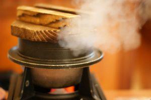 お米を炊くプロセス